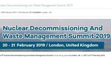 "ACI ""Nuclear Decommissioning and Waste Management Summit 2019"" – info logistiche e organizzative"