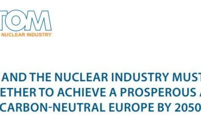 Nuclear Europe Leaders call for industry and policymakers to work together for a prosperous and carbon-free Europe